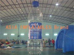 Inflatable Aquafina Bottle