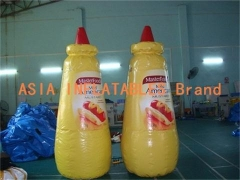Full color opblaasbare fles model