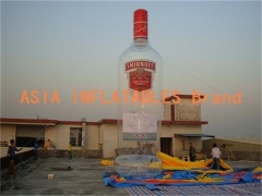 Vodka Advertising Inflatable Bottle Model