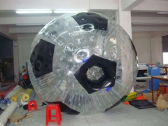 Voetbal zorb bal