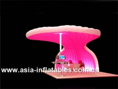 Lighting Inflatable Booth Bar