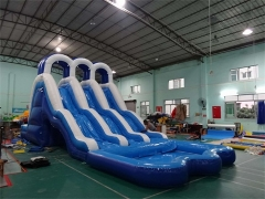Triple Lane Wave Water Slide