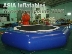 Diam 6m opblaasbare watertrampoline