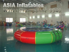 Opblaasbare watertrampoline