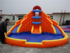 Kleine splash down bounce slide combo
