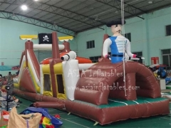 15 'Pirate Ship Slide & Obstacle Combo