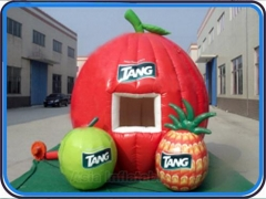 reclame opblaasbare fruit stand