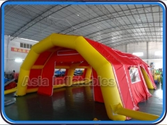 opblaasbare paintball bunkers tent