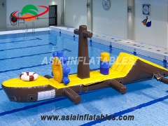 qbstacle course games water zeilboot