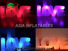 LED Decoration Inflatable Love Letters