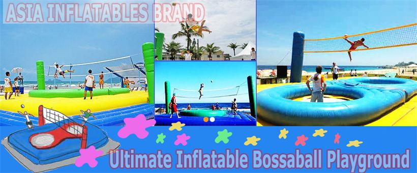 Ultimate Inflatable Bossaball Playground